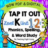 Tap It Out Phonics Units 1, 2, and 3 Kindergarten Bundle P