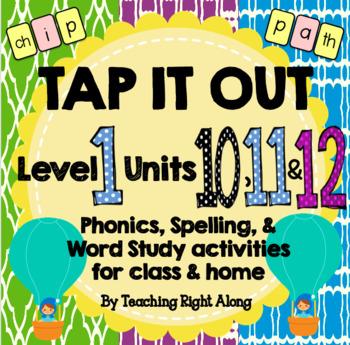 Tap It Out Units 10, 11, 12 Level 1 Bundle Pack