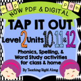 Tap It Out Units 10, 11, 12 Level 2 Bundle Pack