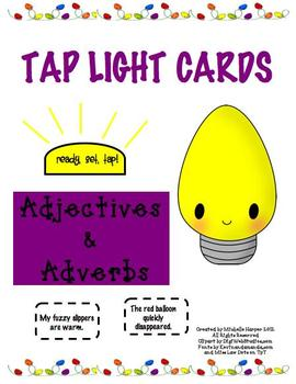 Tap Lights Adjectives & Adverbs