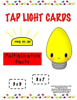 Tap Lights Multiplication Facts