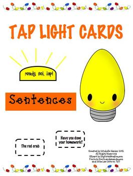 Tap Lights Sentences