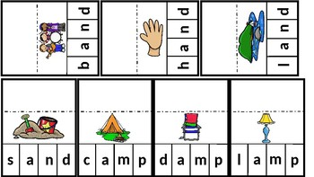 Tap & Sound Out Word Flips: Consonant Blends; Decoding