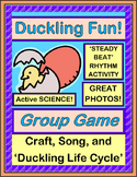 """""""Duckling Fun!"""" - Active Science Game, Craft and Song about Hatching Ducklings"""