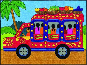 Tap Tap Truck Mural