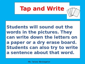 Tap and Write