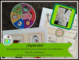 Tapatodo Printable Spanish Vocabulary Game -16 Different G