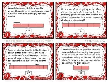 Tape Diagram Division - Set 9
