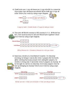Tape Diagram Practice