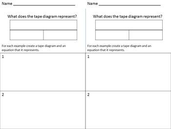 Tape Diagram Presentation