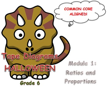 Tape Diagrams Halloween