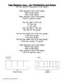 Tape Diagrams Song! (For Multiplication and Division) Eureka Math