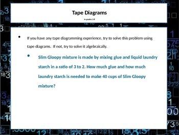 Tape Diagrams Teacher Training PowerPoint