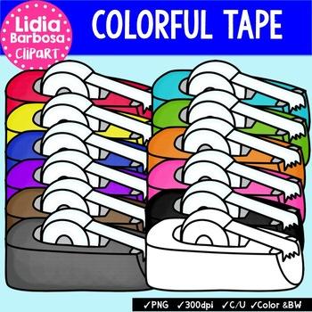 Tape Dispensers { Clip Art for Teachers }