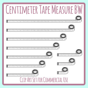 Clipart: tailor black and white | Black and white cartoon measuring tape —  Stock Vector © lineartestpilot #101510348