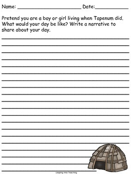 Tapenum's Day Writing Mini-Unit