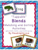 """Tappable"" Blends Matching and Sorting Activities"