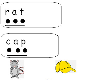 Tapping out C-V-C words