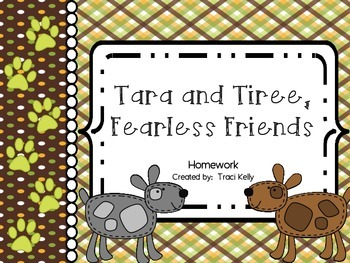 Tara and Tiree: Fearless Friends Homework - Scott Foresman 2nd Grade