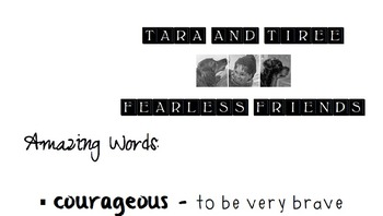 Tara and Tiree Vocabulary