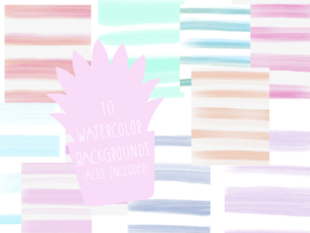 Watecolor Cactus Clipart by Taracotta Sunrise