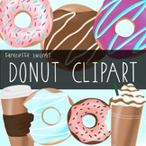 Taracotta Sunrise Donuts and Coffee Clipart