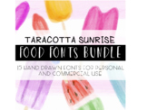 Taracotta Sunrise Food Fonts Bundle for Personal and Comme