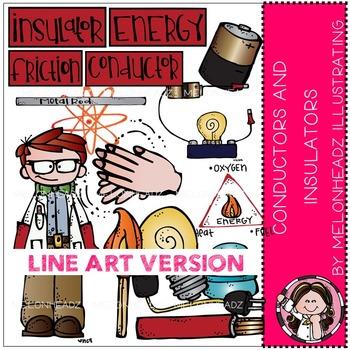 Tara's conductors and Insulators by Melonheadz LINE ART