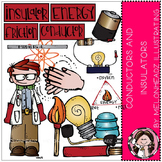 Conductors and Insulators clip art - by Melonheadz