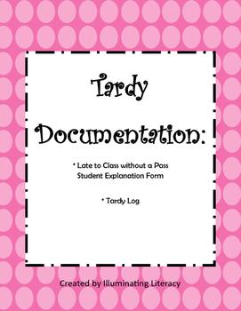 Positive Behavior Management: Tardy Slips and Documentation