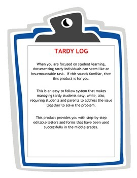 Tardy Management Tool