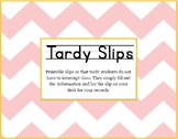 Tardy Passes