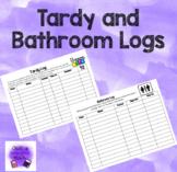 Tardy and Bathroom Logs