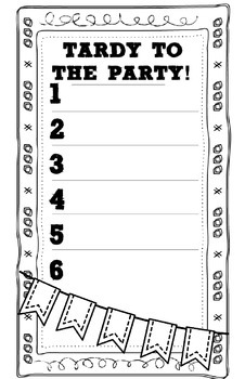 Tardy to the Party! - Tardy Class Management System