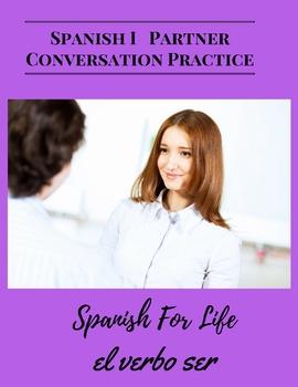 Partner Conversational Practice Spanish speaking practice First Year Spanish