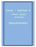 Tarea - Exprésate 1 Capítulo 6 - Direct Object Pronouns (H