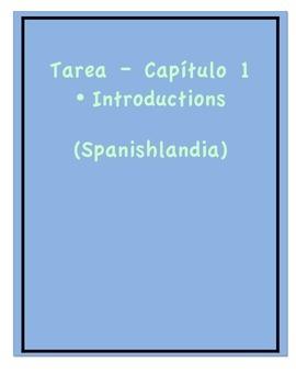 Tarea - Exprésate 1 Capítulo 1 - Introductions (Homework/Classwork)