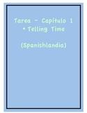 Tarea - Exprésate 1 Capítulo 1 - Telling Time (Homework/Cl