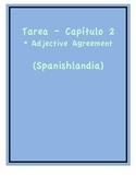 Tarea - Exprésate 1 Capítulo 2 - Adjective Agreement 1 (Ho