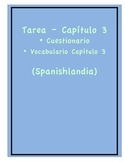 Tarea - Exprésate 1 Capítulo 3 - Questionnaire Ch. 3 (Home
