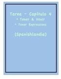 Tarea - Exprésate 1 Capítulo 4 - Tener y Venir (Homework/C