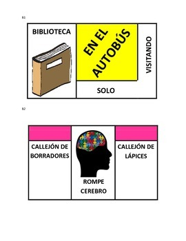 Tarea-opoly (Homeworkopoly in Spanish)
