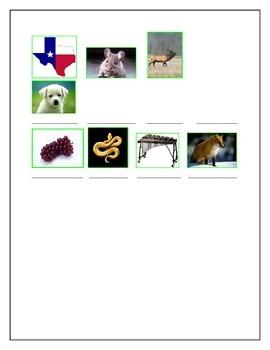 Tarea para El Abecedario Español (Homework for the Spanish Alphabet)