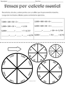 Tareas de desempeño Unidad 3.2 Matemática tercer grado