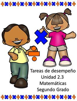 Tareas de desempeño y actividades Matemáticas Unidad 2.3 Segundo Grado