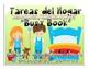 Tareas del Hogar Busy Book- Cut and paste - Vida Independiente y/o Preescolar