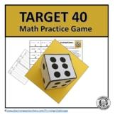 Target 40 Math practice Game