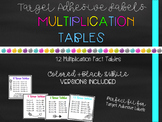Target Adhesive Multiplication Facts