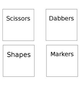 Target Adhesive Label Slips - EDITABLE