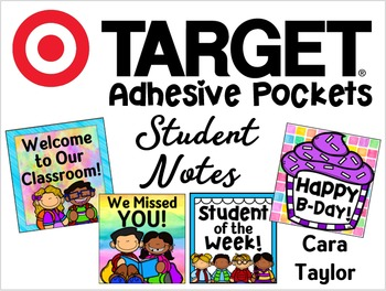 Target Adhesive Pocket Student Notes